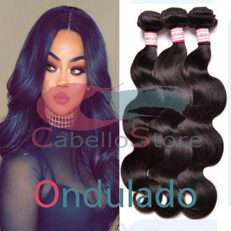 Extensiones de pelo Natural Ondulado 100 % Virgen